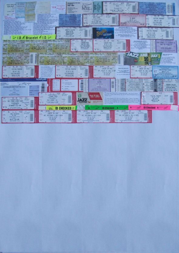 Ticket Board Sept 2013