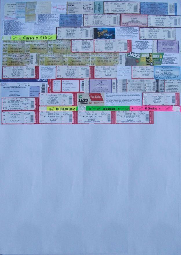 Ticket Board Sept 2013
