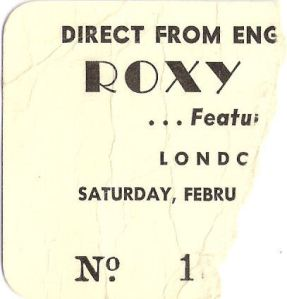 Roxy Music London Arena February 8 1975 Canada