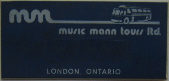 BADGES Music Mann Tours Badge