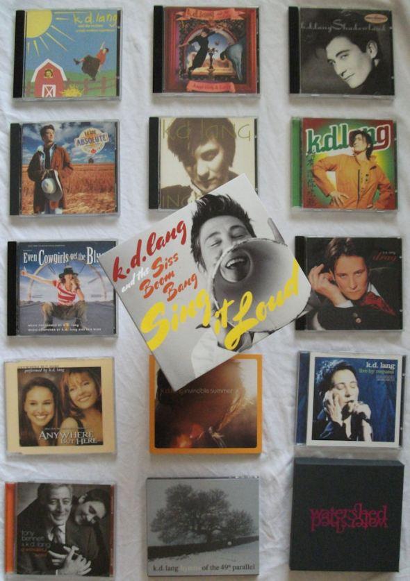 kd lang catalogue 1984 to 2011 BLOG