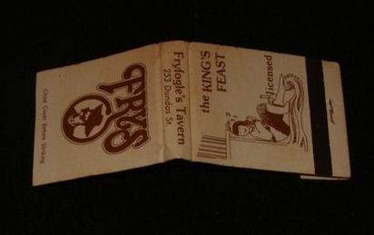 Fryfogles Matchbook Ebay BLOG