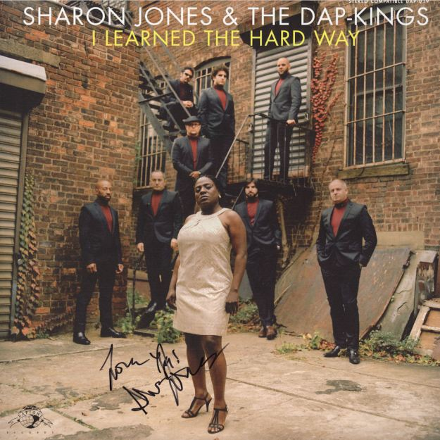 Sharon Jones & The Dap-Kings I Learned the Hard Way Autographed Vinyl Album VariousArtists