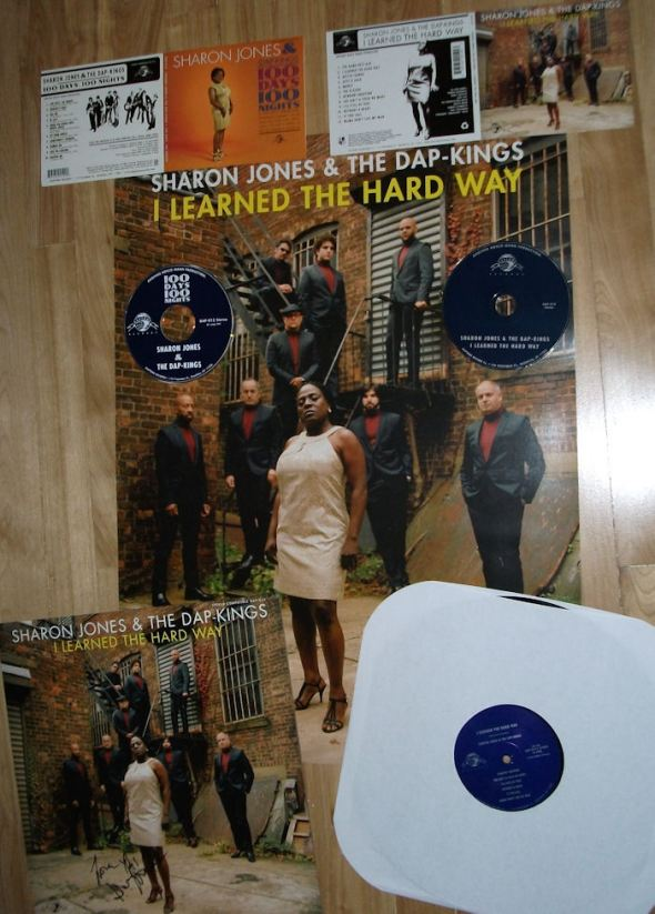 VariousArtists' Sharon Jones LP, CDs & Poster
