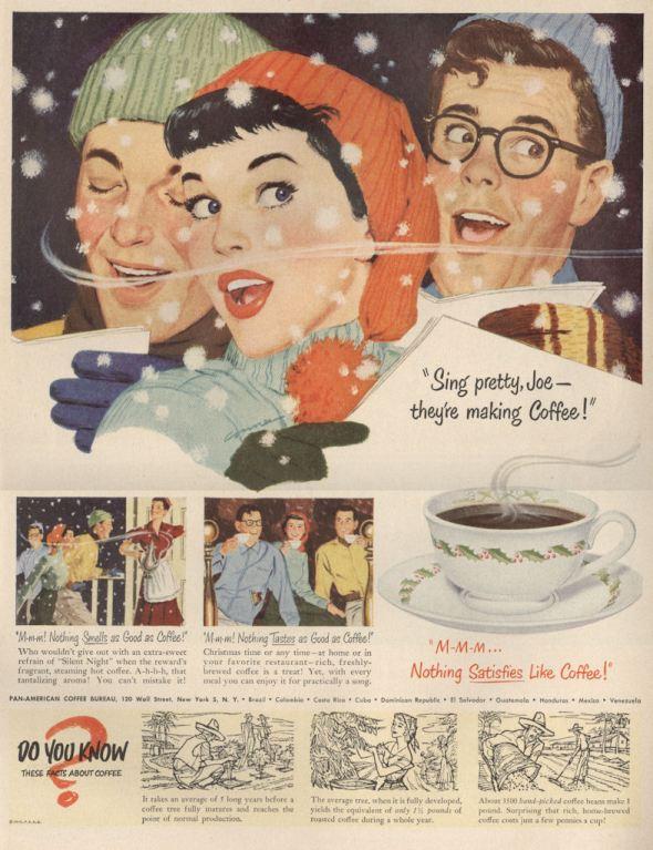 Life Dec 50 Coffee Sing Pretty BLOG