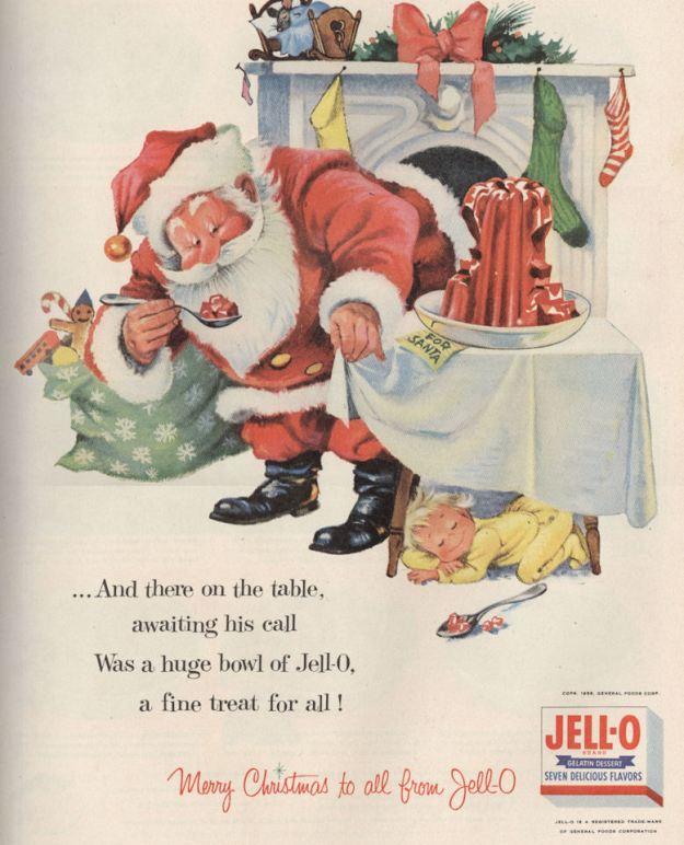 Life Dec 55 Jello Santa TRUE VERSION BLOG