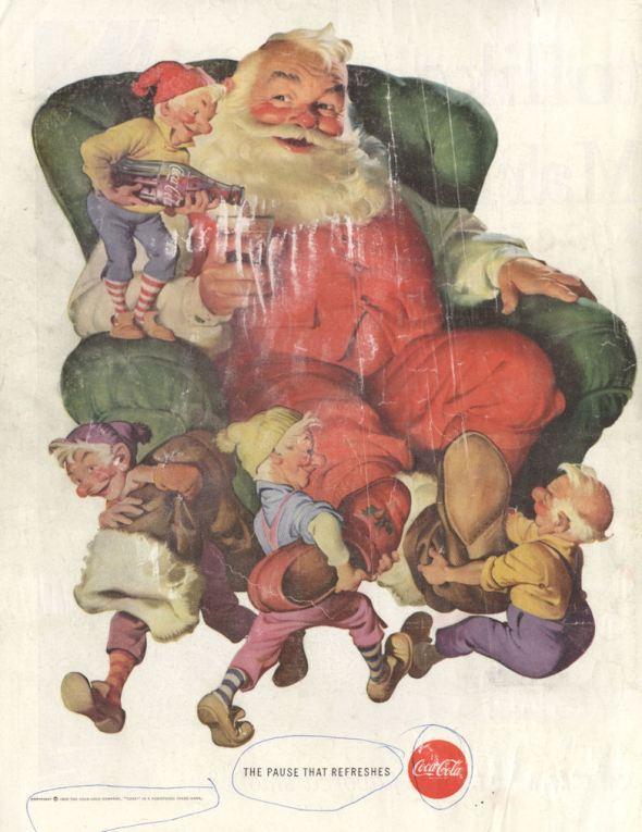 Life Dec 60 Coke Santa BLOG