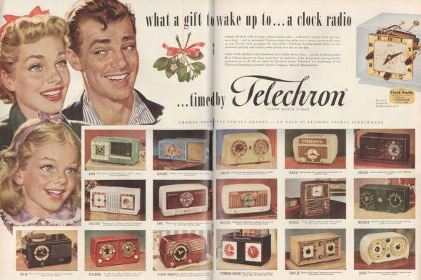 Life Nov 51 Clock Radio Family BLOG
