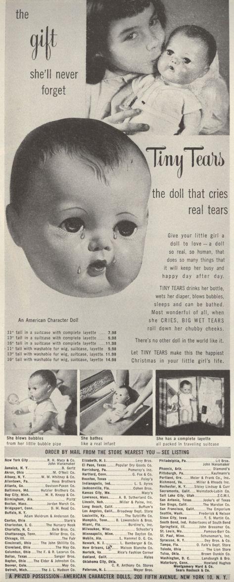 Life Nov 51 Tiny Tears Doll BLOG