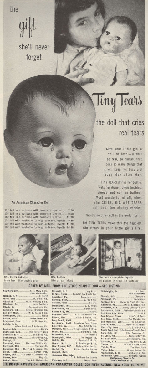 Life Nov 51 Tiny Tears Doll BLOG