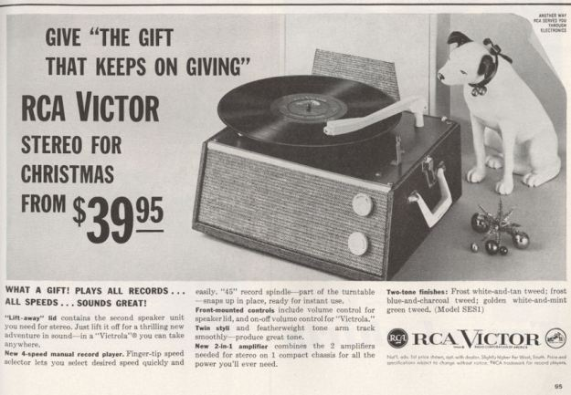 Life Nov 59 RCA Nipper Record Player BLOG