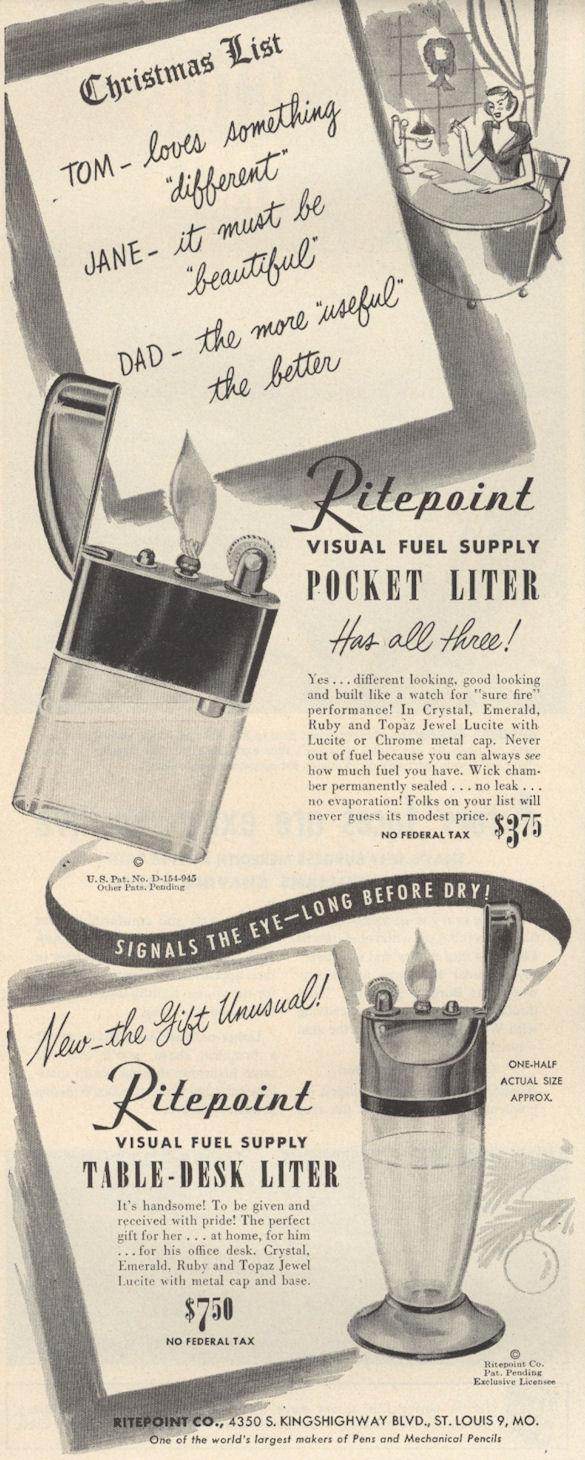 Life Nov 59 Ritepoint Lighter BLOG