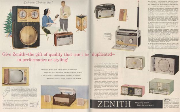 Life Nov 59 Zenith products BLOG