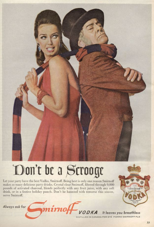 Macleans Dec 65 Smirnoff Don't Be A Scrooge BLOG