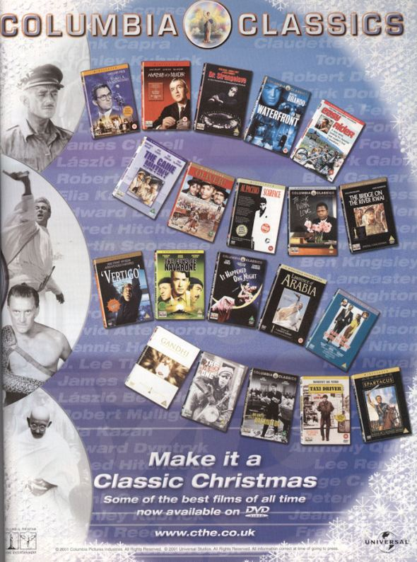 Uncut Jan02 Columbia Classic Videos BLOG