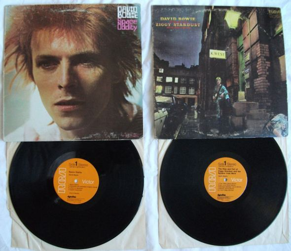 Space Oddity Ziggy Stardust Album Covers Vinyl BLOG