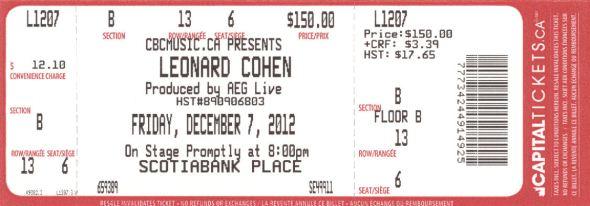 leonard-cohen-ottawa-2012-ticket