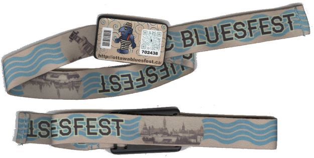 BLOG Bluesfest wristbands 2013