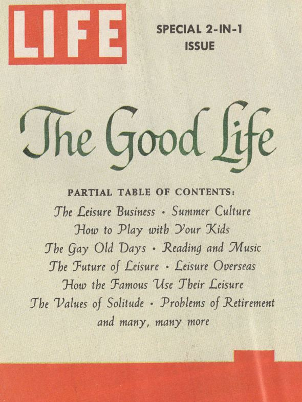 BLOG LIFE subscription Good Life special issue