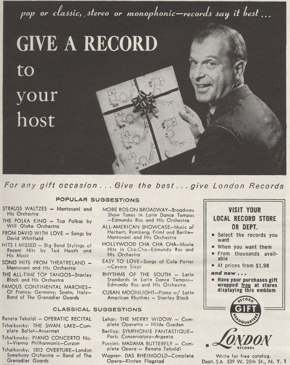 BLOG LONDON RECORDS