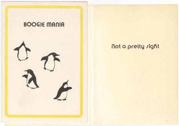 BLOG BoogieMania card