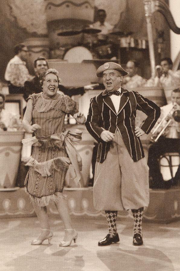 Ethel Fred Mertz postcard VA