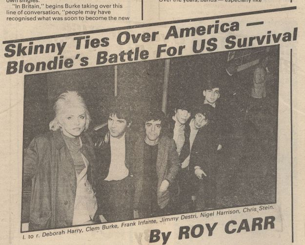 variousartists NME Sept 29 1979 Blondie Story Detail