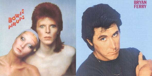COVERS Bowie Pinups Ferry Foolish