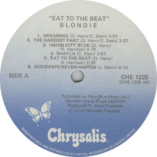 LABEL BLOG Blondie Eat to the Beat variousartists