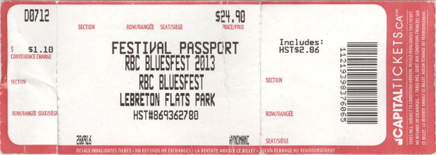 Ticket Festival Pass 2013 Corrected
