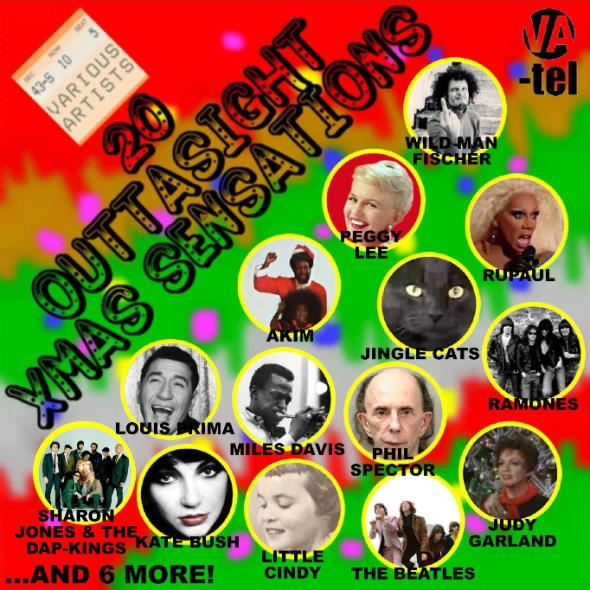 VA-Tel presents 20 Outtasight Xmas Sensations