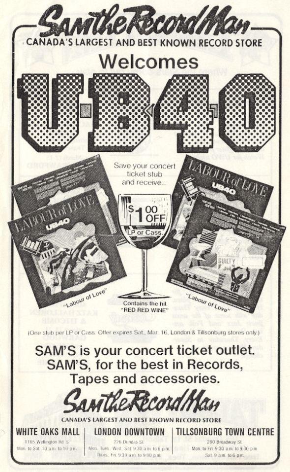 BLOG UB40 March 7 1984 CentHall Program Pg4