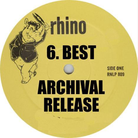 VA Best Archival Release 2014 Rhino Records Label