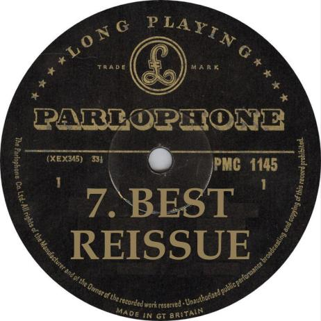 VA Best Reissue of 2014 Parlophone Records Label