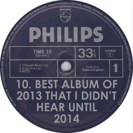 VA Best 2013 Album I Didn't Hear Until 2014 Philips Records Label