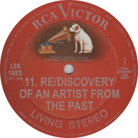 VA Rediscovery Nilsson RCA Victor Records Label Red