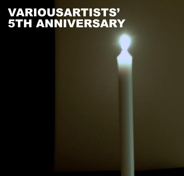 VariousArtists 5th Anniversary Five Years Daydream Nation Mockup